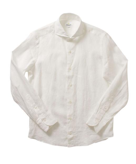 GIANNETTO〈ジャンネット〉リネンシャツ