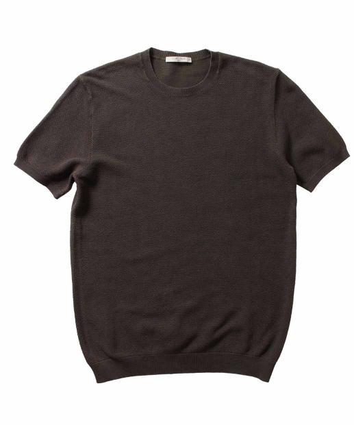 CIRCOLO1901〈チルコロ1901〉ニットTシャツ