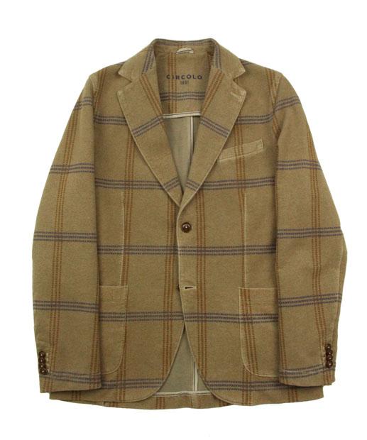 CIRCOLO1901〈チルコロ1901〉 スウェットジャケット