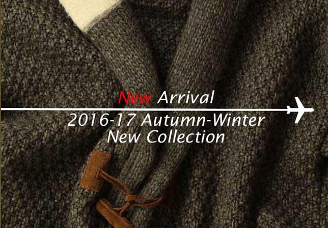 2016秋冬の新着アイテムをアップいたしました。