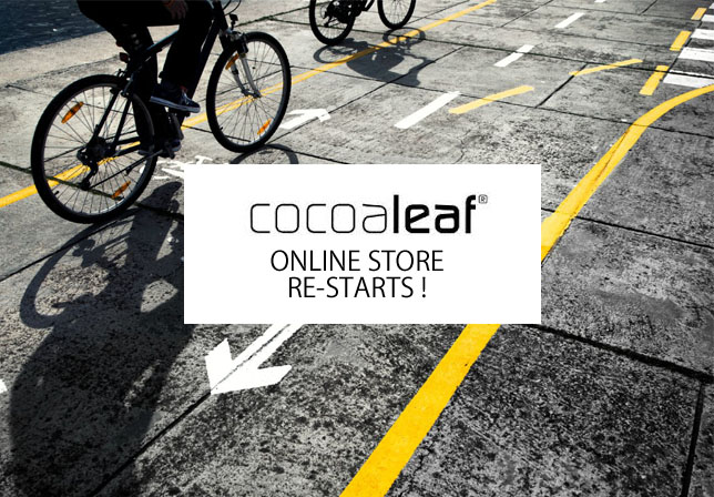 cocoaleaf ONLINE STORE RE-STARTS!