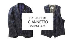 GIANNETTO JACKET & GILET