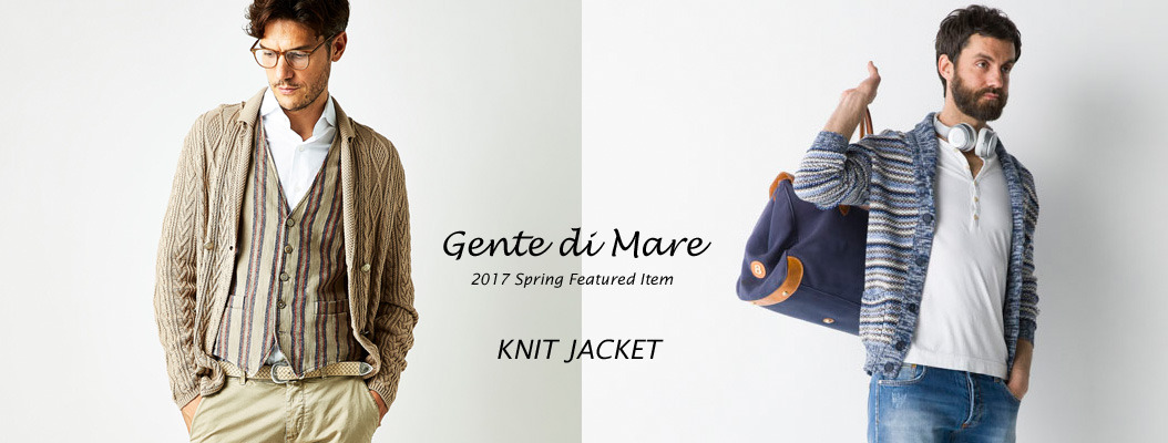 PANICALE_SPRING KNIT JACKET