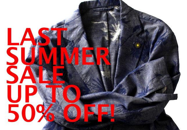 最終価格となる「LAST SUMMER SALE」がスタート!