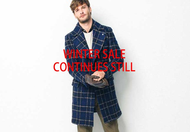 WINTER SALE CONTINUES STILL