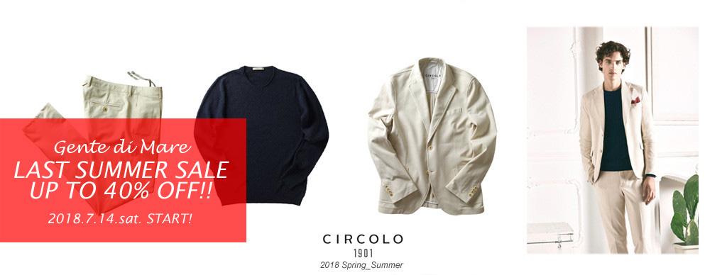 CIRCOLO1901(チルコロ1901) 2018 SPRING_SUMMER COLLECTION