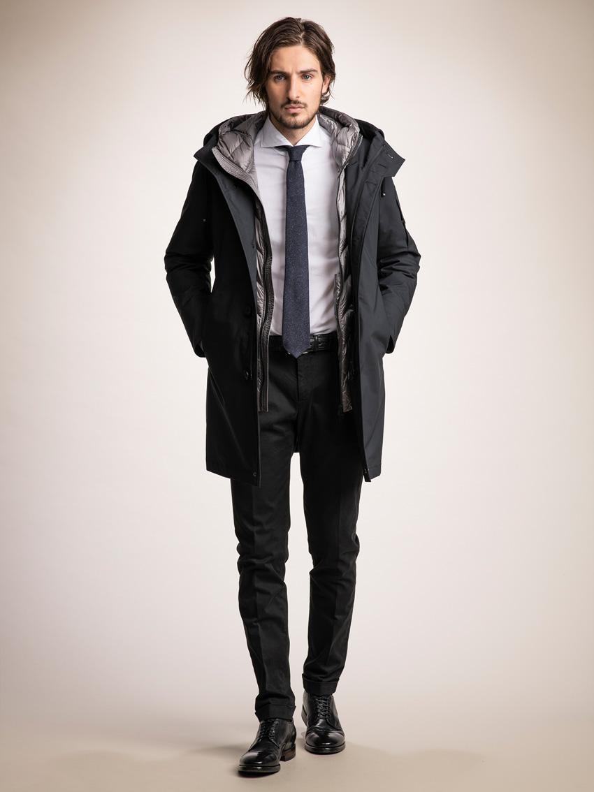 ジェンテ スタイル82 2018 AUTUMN_WINTER DUNO(デュノ)のコートを中心にしたコーディネート_メイン画像