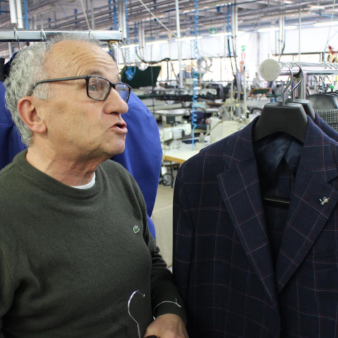 イタリア 紳士服