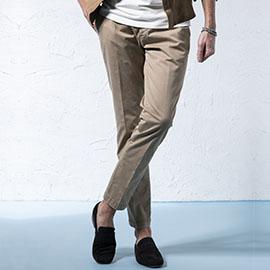 ジェンテ スタイル84 2019 SPRING_SUMMER DELAN(デラン)のレザーシャツジャケットのスタイル_サブ画像3