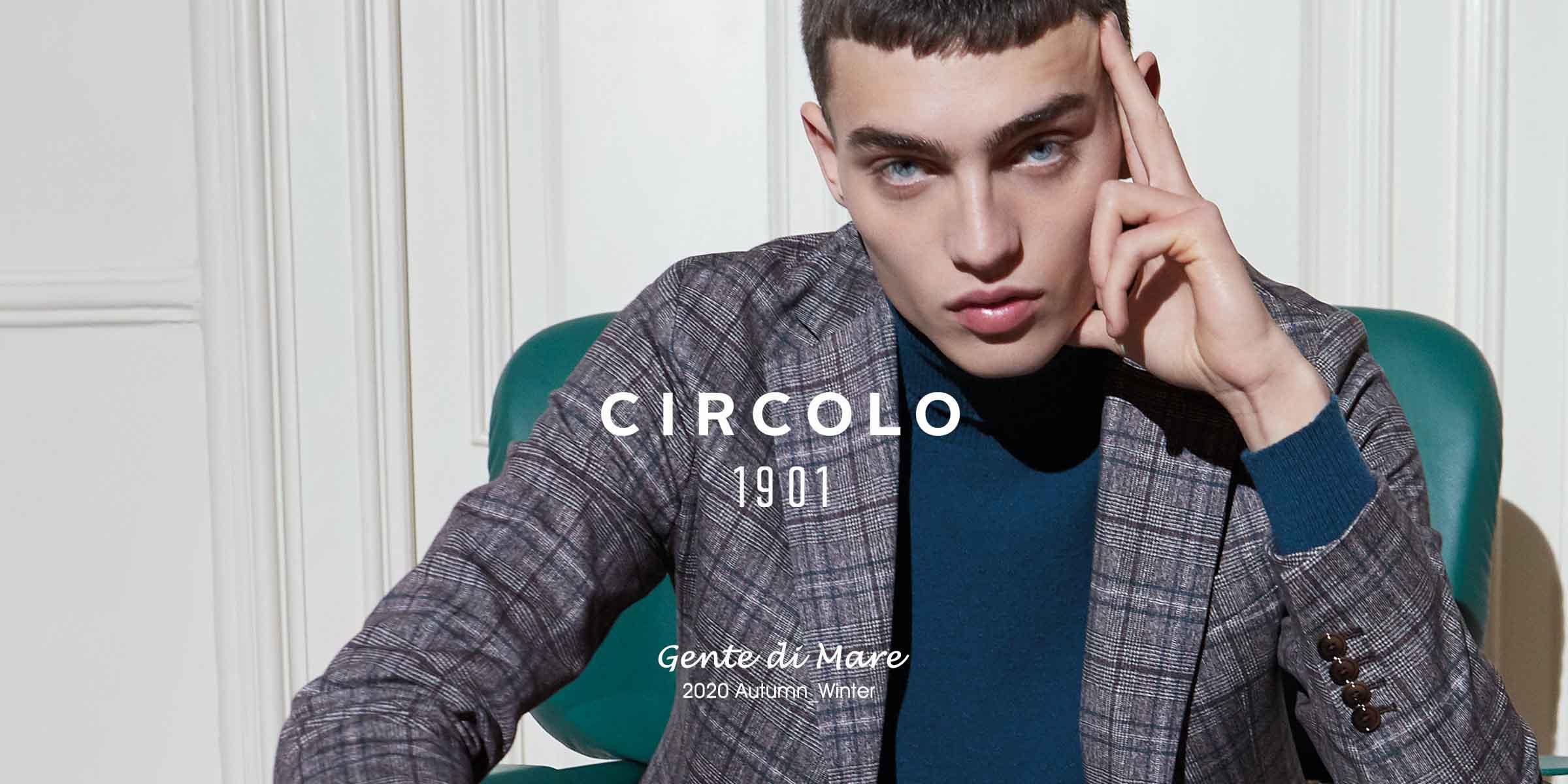CIRCOLO1901 2020AW BANNER - MEN'S